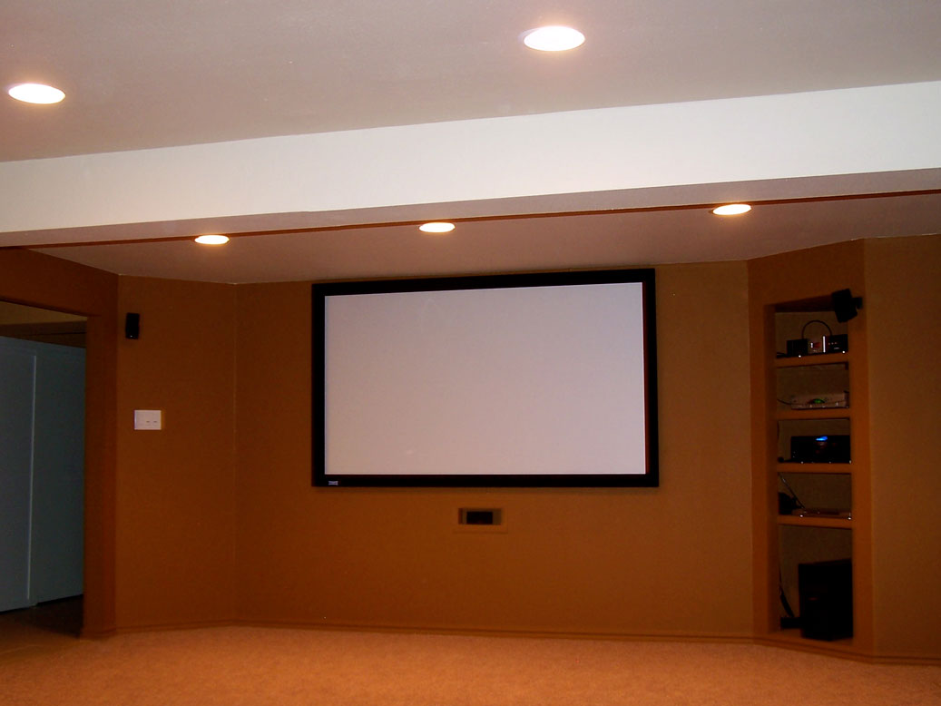Photo Gallery [Media Rooms] - Troutz Home Improvements